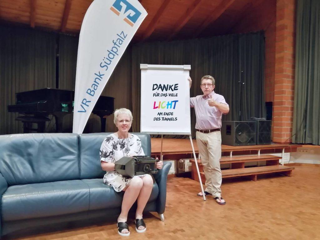 Patricia Lang und Peter Damm sagen DANKE!